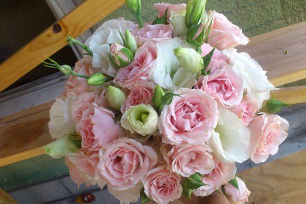 ramo de novia lisianto-rositas $20000